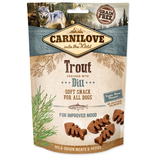 Carnilove 200g Dog Trout enriched Dill