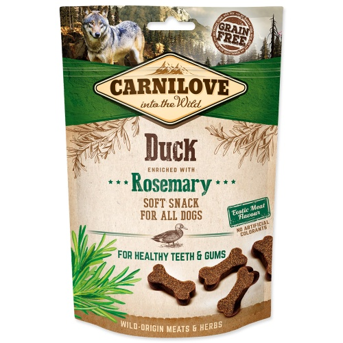 Carnilove 200g Dog Duck enriched Rosemar