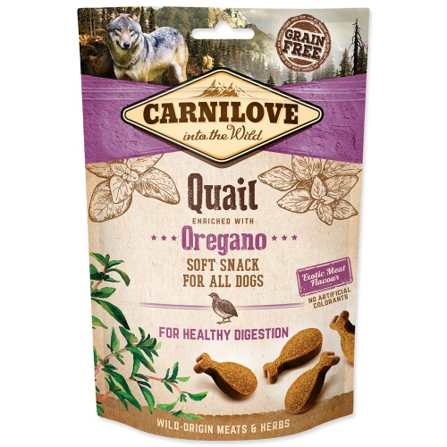 Carnilove 200g Dog Qual enriched Oregano