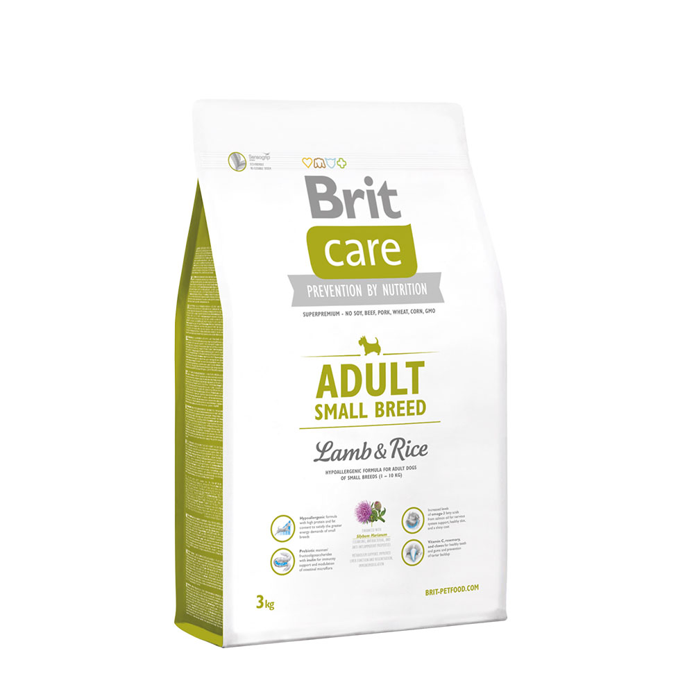 Brit Care Adult Small Breed LambRice 3kg