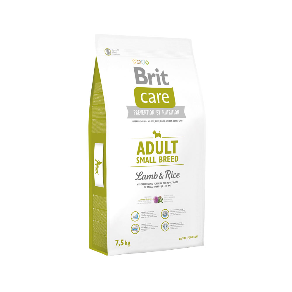 Brit Care Adult Small B. Lamb Rice 7.5kg