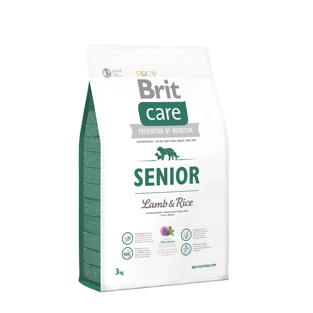 Brit Care Senior Lamb Rice 3kg vafo