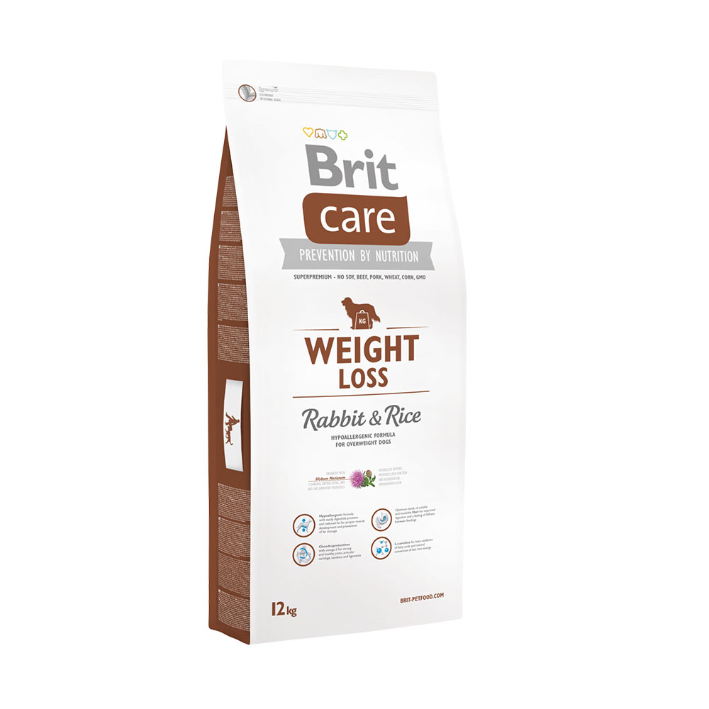 Brit Care Weight Loss Rabbit Rice 12kg vafo