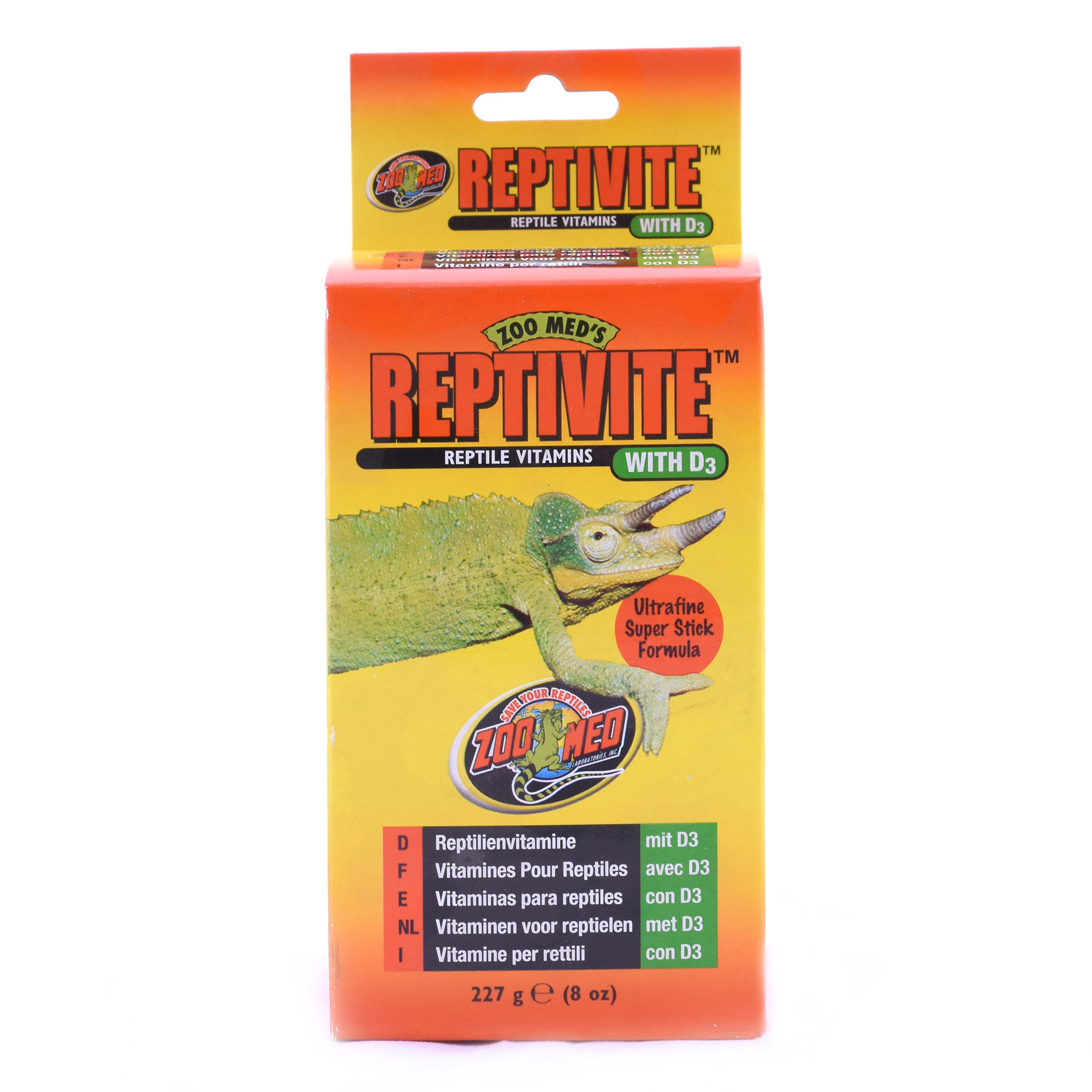Reptivite 225g - Zoomed
